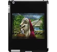 Red Riding Wolfs Arrival (For Challenge) iPad Case/Skin