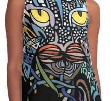 Dragon Cat Color Closeup Contrast Tank