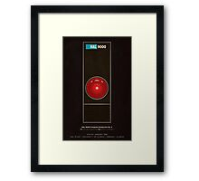 HAL 9000 computer from 2001 Framed Print
