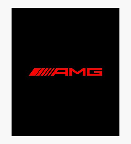 AMG RED Photographic Print