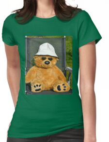 One Cool Bear Womens Fitted T-Shirt