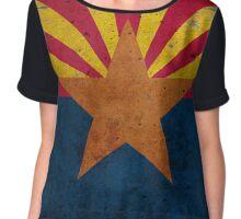Arizona State Flag Chiffon Top
