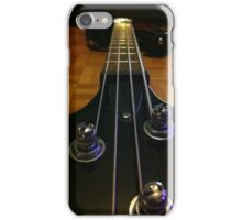 bass guitar iPhone Case/Skin