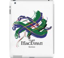 Clan MacEwan - Prefer your gift on Black/White tell us at info@tangledtartan.com  iPad Case/Skin