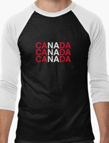 CANADA Men's Baseball ¾ T-Shirt