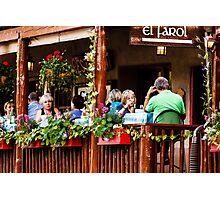 El Farol Restaurant Photographic Print