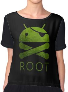 Root Android Chiffon Top