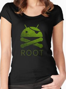 Root Android Women's Fitted Scoop T-Shirt