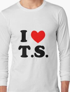 I Love T.S. Long Sleeve T-Shirt