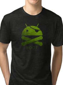Root Android Tri-blend T-Shirt