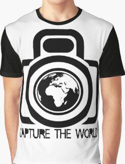Bios Blog Camera+Globe Icon#03 Graphic T-Shirt