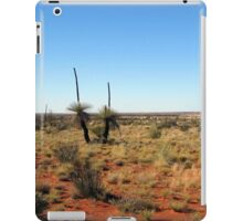 Grass Trees  along the Canning Stock Route Western Australia iPad Case/Skin