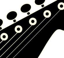 Guitar player black Sticker