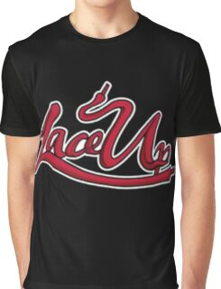 Lace Up Graphic T-Shirt