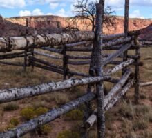 Horse Corral New Mexico Sticker