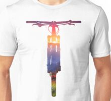 Mountain Bike Sunset - MTB Collection #002 Unisex T-Shirt
