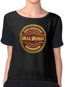 Mesa Boogie red yellow Chiffon Top