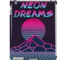 Neon Dreams  iPad Case/Skin