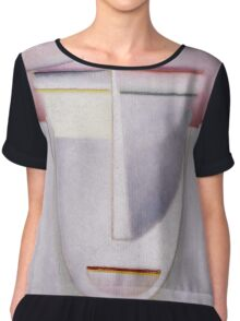 Vintage famous art - Alexei Jawlensky  - Abstract Head Africa Chiffon Top