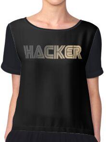 Hacker Chiffon Top