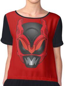 Psycho Red Ranger Chiffon Top