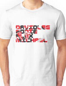 David Lee Eddie Alex Michael Unisex T-Shirt