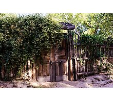 Wooden Gate New Mexico Photographic Print