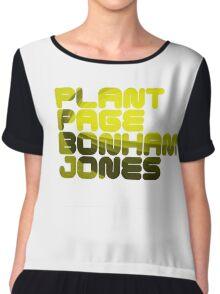 Plant Page Bonham Jones Chiffon Top