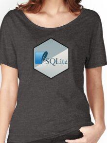 SQL lite hexagonal programming language  Women's Relaxed Fit T-Shirt