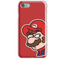 Mario: Dazed and Confused iPhone Case/Skin
