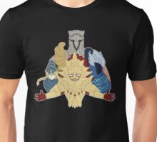 4 Knights of Gwyn Unisex T-Shirt