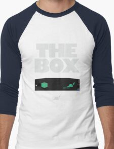 The Box by Pied piper Men's Baseball ¾ T-Shirt