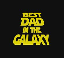 Mens T-shirt Best Dad In The Galaxy.  Father's Day Holiday or Gift Unisex T-Shirt Classic T-Shirt