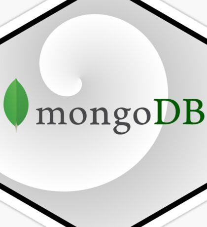 mongo DB hexagonal programming language Sticker