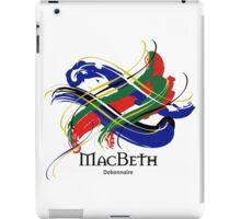 MacBeth - Prefer your gift on Black/White tell us at info@tangledtartan.com  iPad Case/Skin
