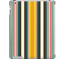 retro stripe iPad Case/Skin