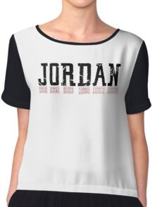 Michael Jordan Championship years  Chiffon Top