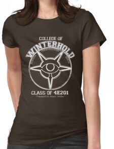 Winterhold College Graduate Womens Fitted T-Shirt