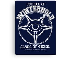 Winterhold College Graduate Canvas Print