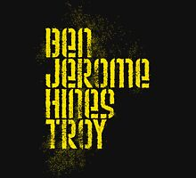 Ben Jerome Hines Troy / Black Unisex T-Shirt