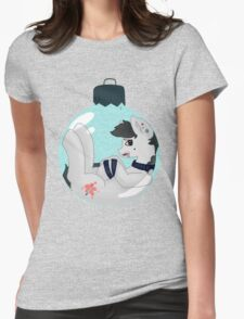 xmasball mlp Womens Fitted T-Shirt