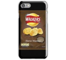 Walkers for Dogs - Horse Manure flavour iPhone Case/Skin