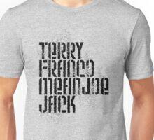 Terry Franco Mean Joe Jack / Gold Unisex T-Shirt