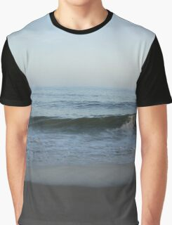 Waves on the Sand Graphic T-Shirt