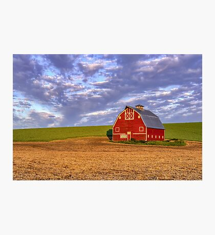 Palouse Country Barn Photographic Print