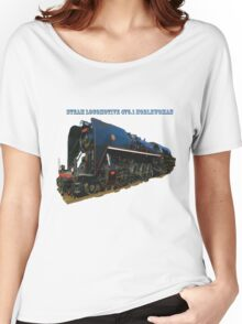 Steam locomotive 475.1 noblewoman Women's Relaxed Fit T-Shirt