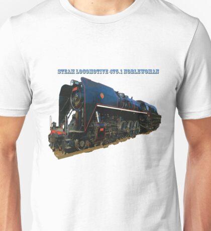 Steam locomotive 475.1 noblewoman Unisex T-Shirt