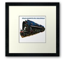 Steam locomotive 475.1 noblewoman Framed Print