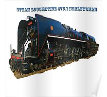 Steam locomotive 475.1 noblewoman Poster
