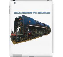 Steam locomotive 475.1 noblewoman iPad Case/Skin